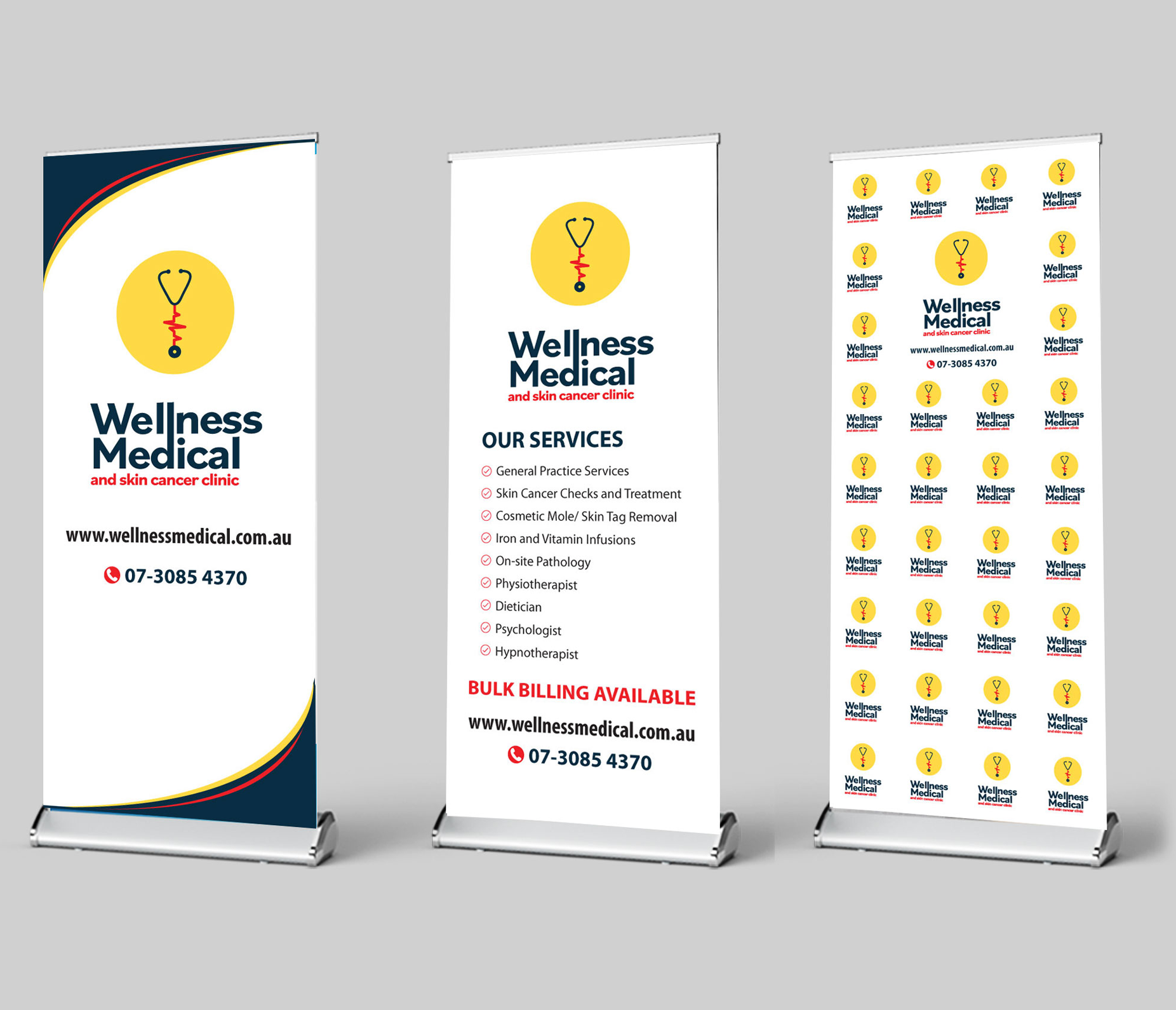 <p>WELLNESS MEDICAL & SKIN CANCER CLINIC : BRAND VISIBILITY</p>